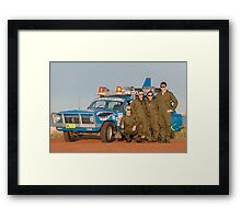 Bash 2015 Top Gun Framed Print