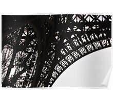 Eiffel Tower angles Poster