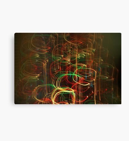 Coloured lights Canvas Print