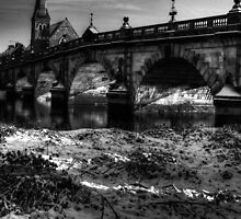 English Bridge black and white by dan williams
