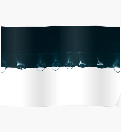 untitled droplets II Poster