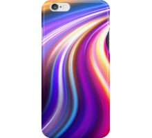 original art abstract colorful waves iPhone Case/Skin