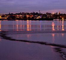 Gravesend Dusk by Paul Davey