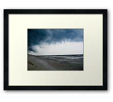 Storm In Framed Print