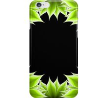 abstract floral  frame  iPhone Case/Skin