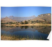 Drakensberg Mountains Poster