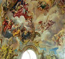 Karlskirche, Vienna, Austria by Margaret  Hyde