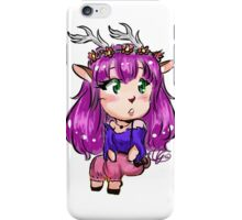 The Casual Faun Princess iPhone Case/Skin