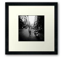 Monk Saigon Vietnam Framed Print