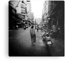 Monk Saigon Vietnam Metal Print