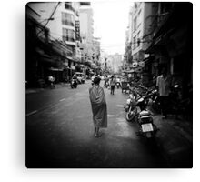 Monk Saigon Vietnam Canvas Print