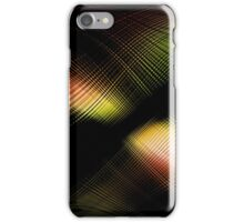 abstract wave energy iPhone Case/Skin
