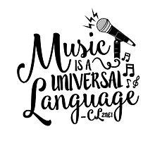 """Music is a Universal Language"" - CL,2NE1 Photographic Print"
