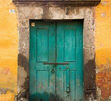 Green Door by Oscar Gutierrez