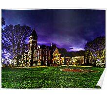 Clemson University Tillman Hall Poster