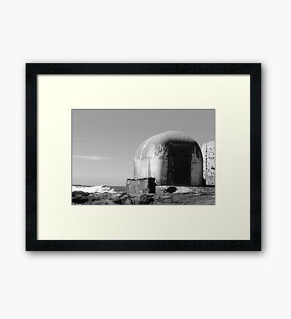 Pumphouse Framed Print