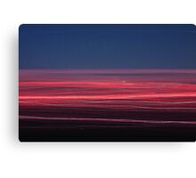 Light/dark photography series #5 (pink and blue) Canvas Print