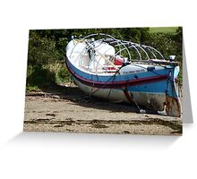 Lifeboat on a Beach Greeting Card