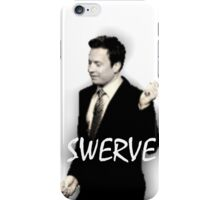 Fallon Swerve White iPhone Case/Skin