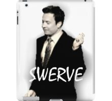 Fallon Swerve White iPad Case/Skin