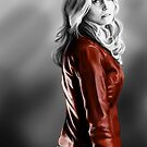 Emma Swan and the Red Leather Jacket by webgeekist