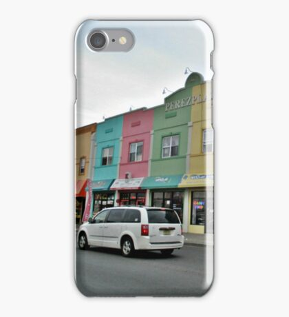 Rainbow Plaza iPhone Case/Skin