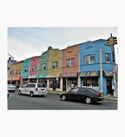 Rainbow Plaza Photographic Print