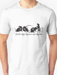 PRRR design 2011 - 4 Rats in a row Unisex T-Shirt
