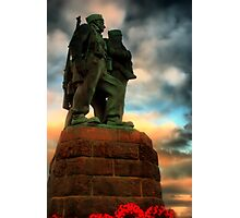 Commando Memorial Spean Bridge Photographic Print
