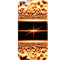 abstract glowing background iPhone Case/Skin