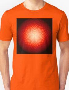 abstract radial geometric design T-Shirt