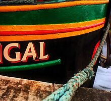"""Fingal"" barge on Caledonian Canal by Nik Sargent www.inpictur.es"