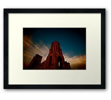 WIde Angle Religion Framed Print