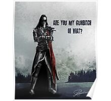 Are you Lexa's gunbitch or what? Poster