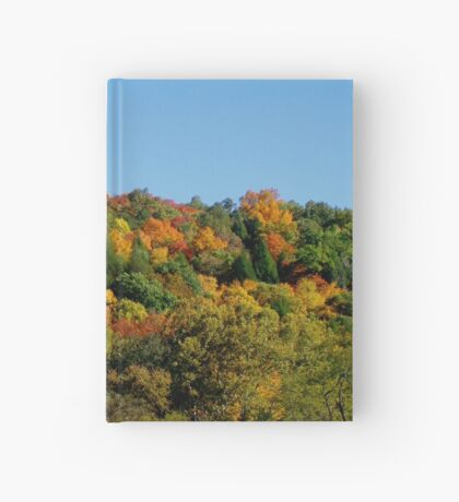 Colorful October in Conkles Hollow Hocking Hills Ohio Hardcover Journal