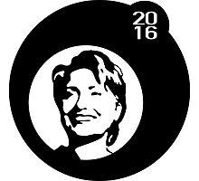 hillary clinton 2016 bubbleblack by maydaze