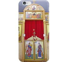 Icons on the Templon of Russian Orthodox Cathedral, Kodiak iPhone Case/Skin