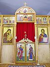 Icons on the Templon of Russian Orthodox Cathedral, Kodiak by Graeme  Hyde