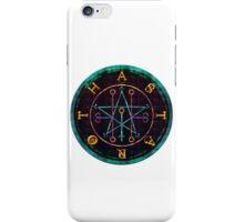 SEAL OF ASTAROTH - cold iPhone Case/Skin