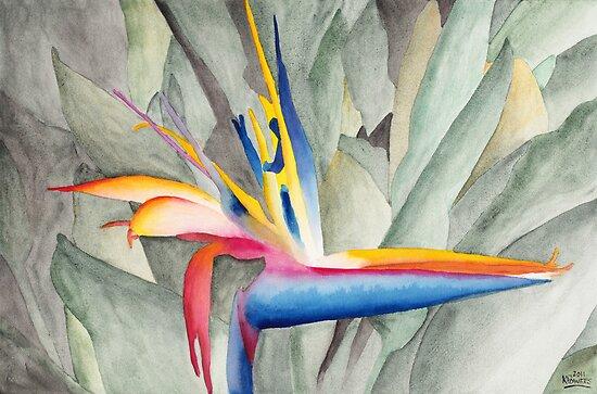 Bird Of Paradise by Ken Powers