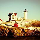 Nubble Light by Lindsey W