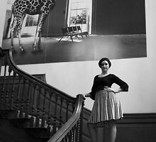 girl on staircase by adam63745