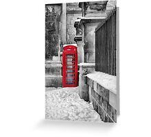 Oxford Telephone  Greeting Card