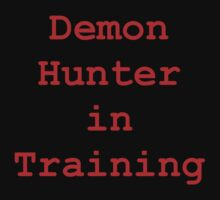 Demon Hunter in Training Kids Clothes