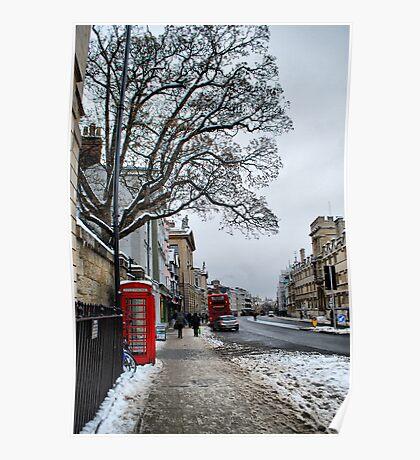 High Street, Oxford Poster
