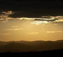 Sun shine at night by SebastianHill