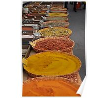 Arles Market - Spices 1 Poster