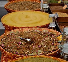 Arles Market- Spices 2 by kweirich