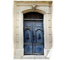 Blue Door, Arles Poster