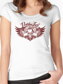 Vintage Ink Tattoo 2  Women's Fitted Scoop T-Shirt